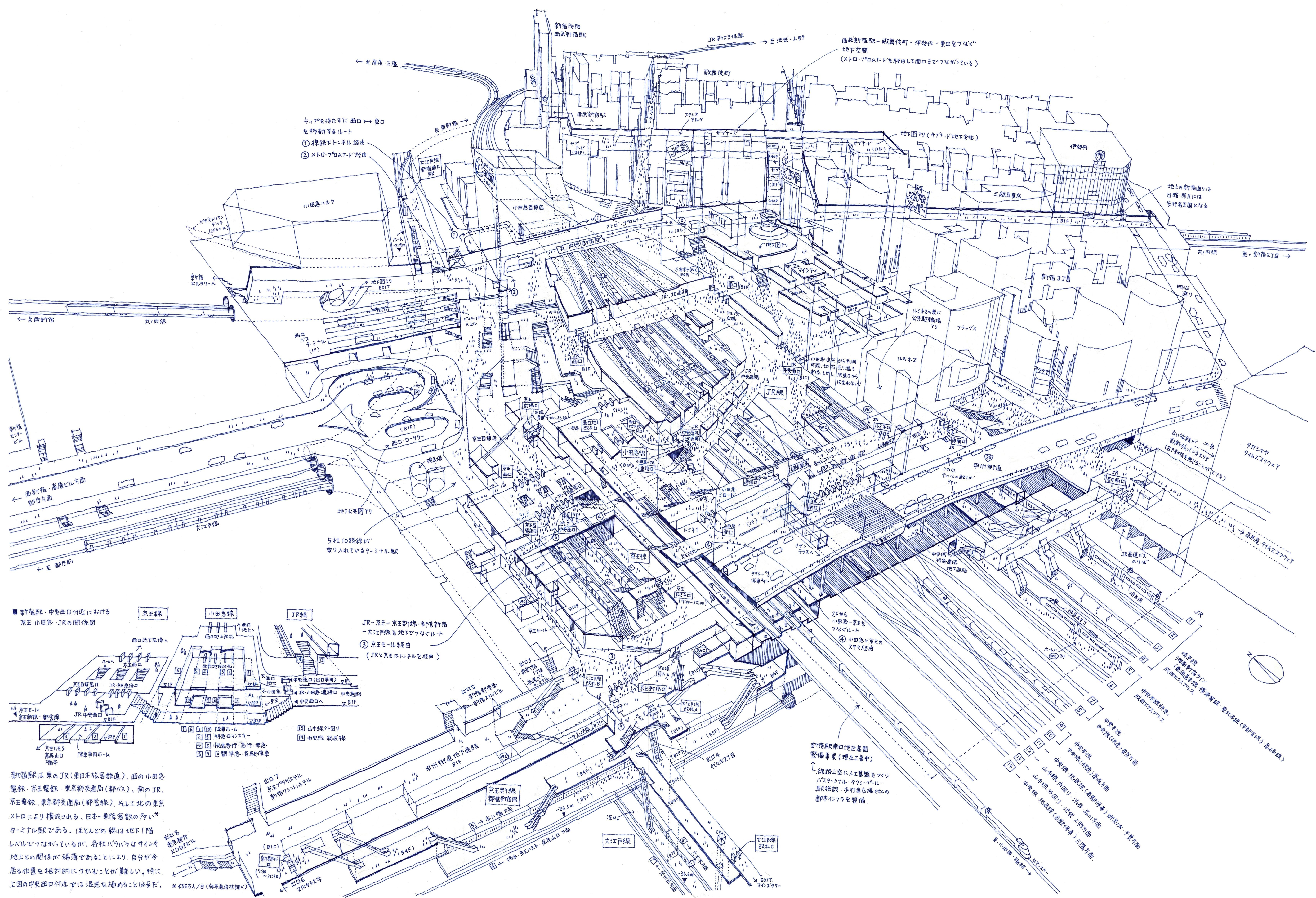 Drawn train japanese Tanaka's Train of Lose Illustrations
