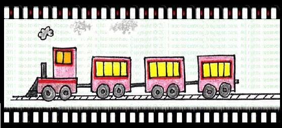 Drawn train passenger train Train Drawing: Passenger train ABC