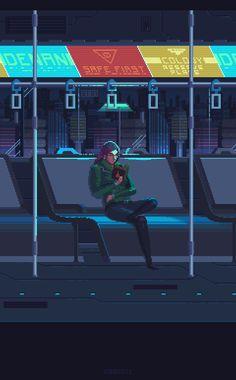 Drawn train pixel art Train pixel pixeloutput: gif pixels