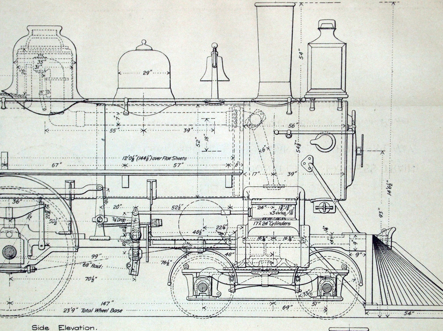Drawn train technical drawing To Drawings Pinterest Michigan engine