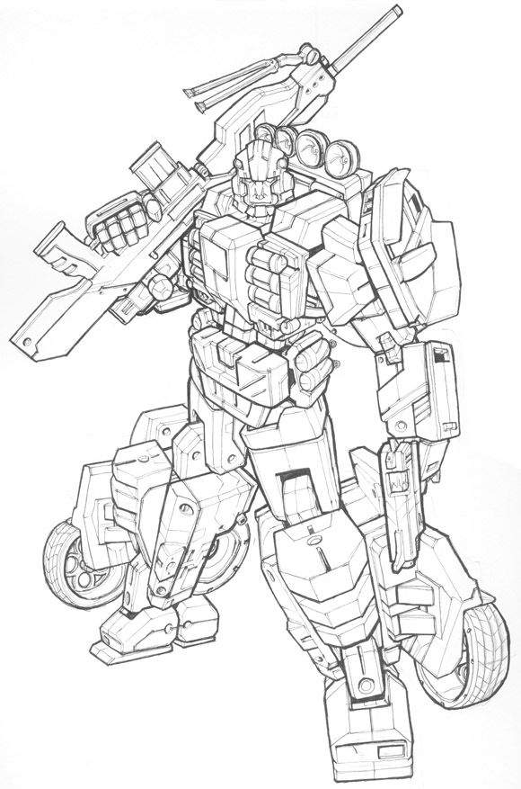 Drawn transformers Ground back your you Drawing