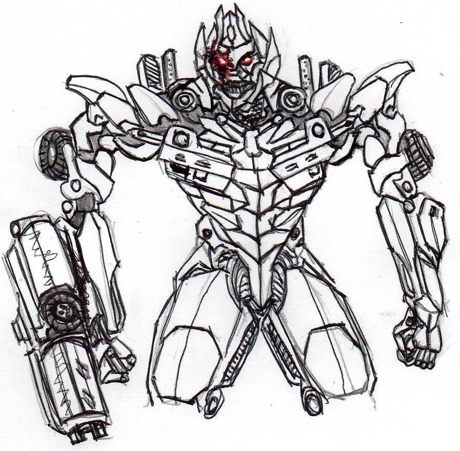 Drawn transformers Dotmmegs029 Artwork: 2005 Boards jpg