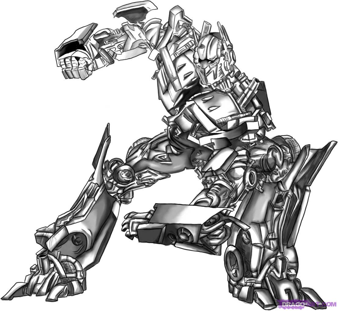 Drawn transformers Prime Optimus Step Transformers how