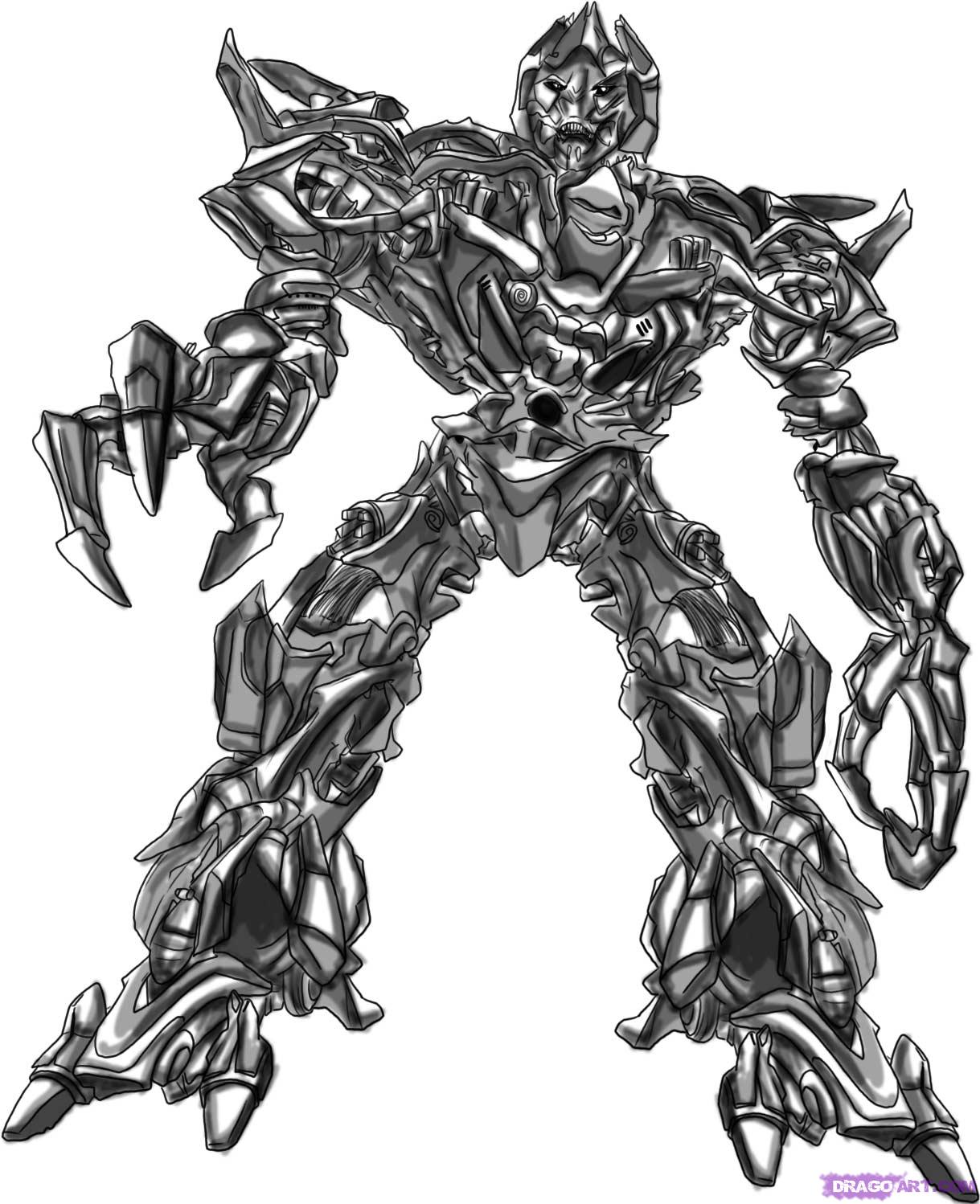 Drawn transformers By Step Cartoons Cartoons how