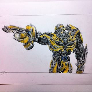 Drawn bumblebee transformers 5 PaigeeWorld the bumblebee is ever