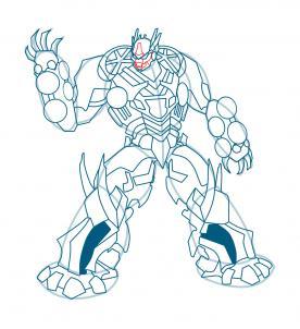 Drawn transformers Drawing Transformers Characters Transformers soundwave Soundwave how step