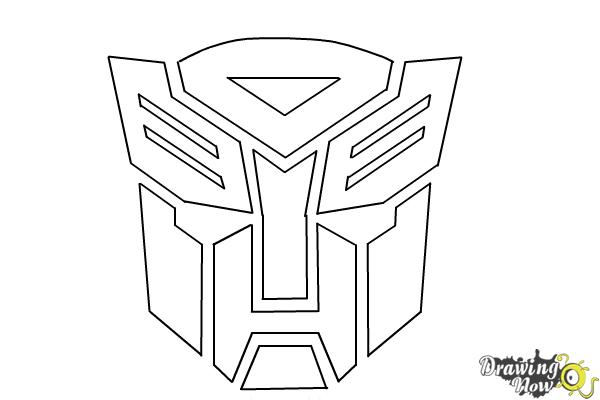 Drawn transformers Drawing Transformers Characters Autobot from Draw Step Draw