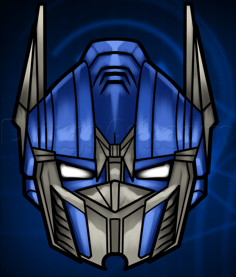 Drawn transformers Drawing Transformers Characters Step easy Easy to draw