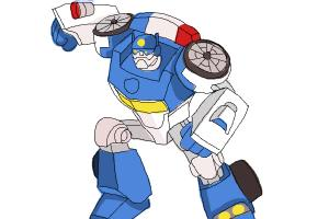 Drawn bumblebee autobot From Chase How How to