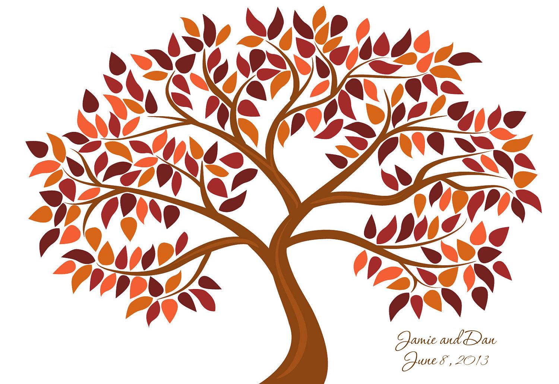 Tree clipart autum #8