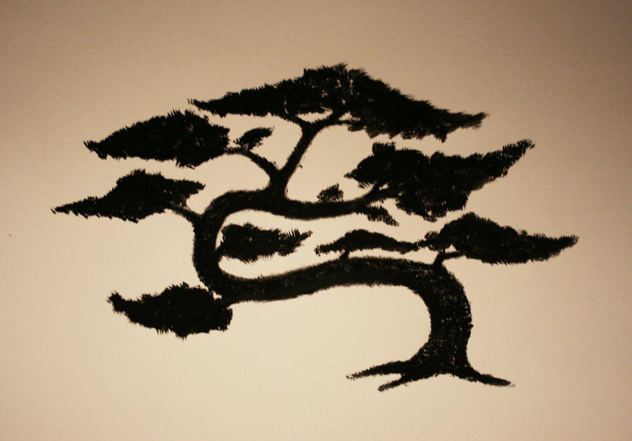 Drawn tree bonsai tree Skewy Skewy DeviantArt by by