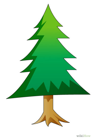 Drawn fir tree easy Forest%20trees%20drawing Free Clipart Panda Forest