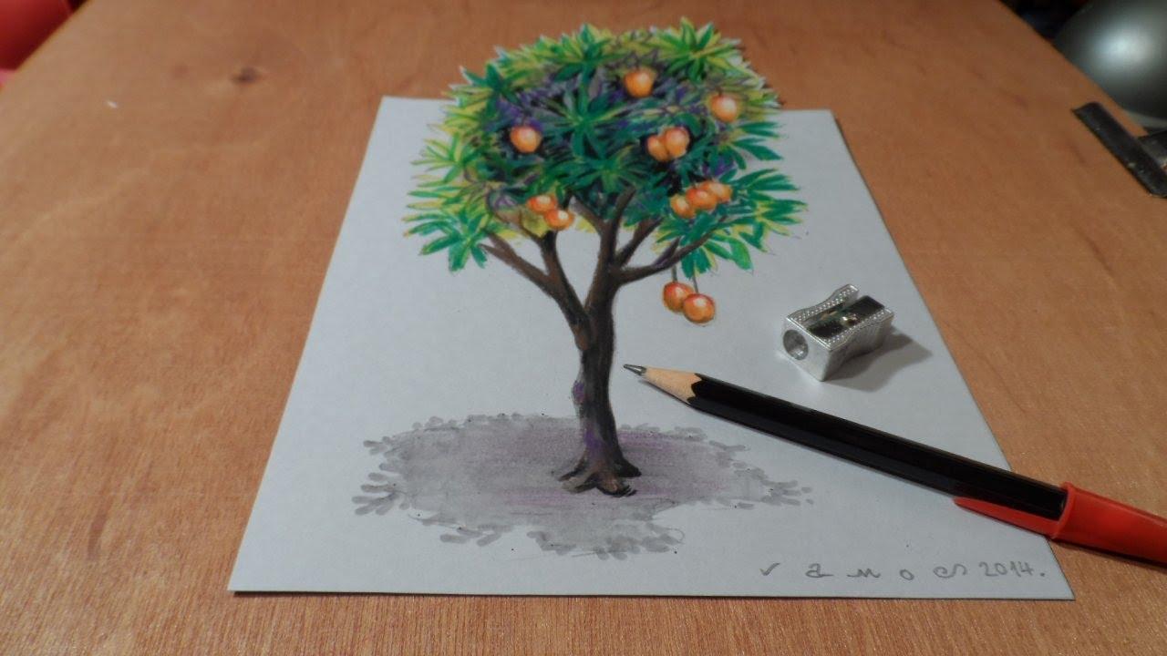 Drawn 3d art magic #4
