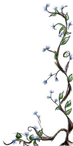 Drawn plant jungle vine Step drawings vines of Draw