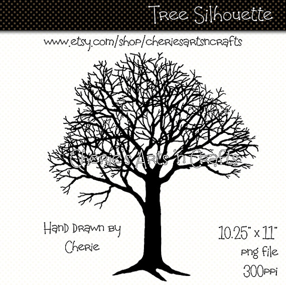 Drawn tree winter tree Tree Graphics Art Hand Tree