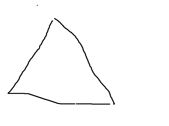 Drawn triangle Amazing Shapes drawn Poorly Triangle