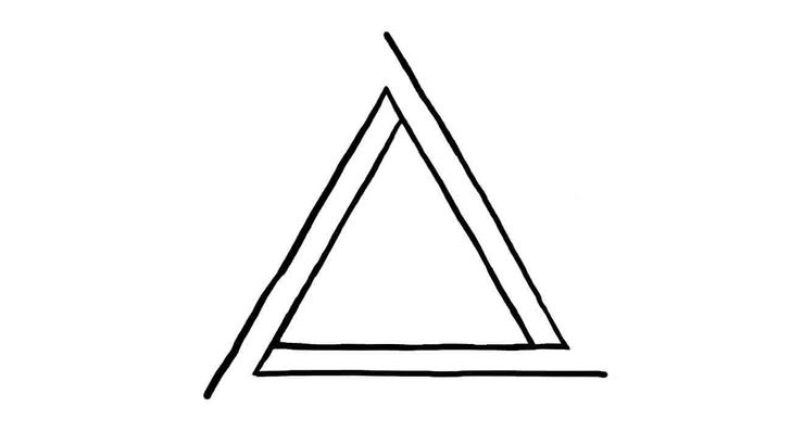 Drawn triangle Step Impossible titled Draw 12