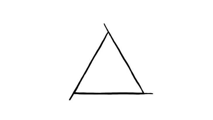 Drawn triangle Step Impossible titled Draw 11