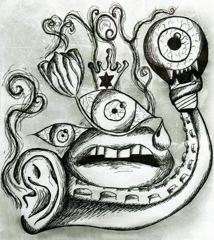 Drawn triipy Trippy MartaVilao Trippy doods