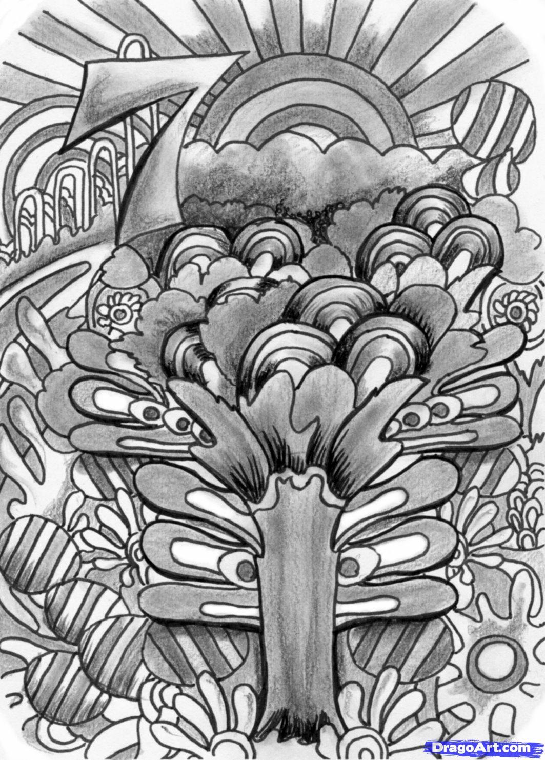 Drawn triipy Trippy  Art by art