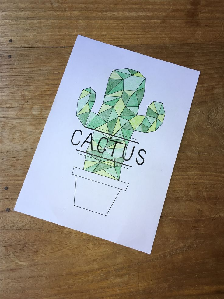 Drawn triipy cactus Doodle  25+ cactus drawing