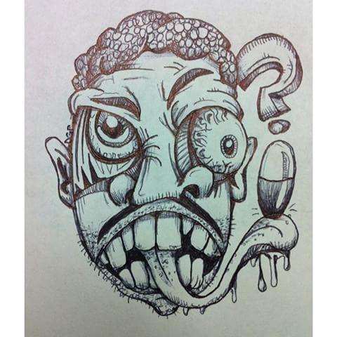 Drawn triipy cartoon character Videos #doodle # #drawing Daniel