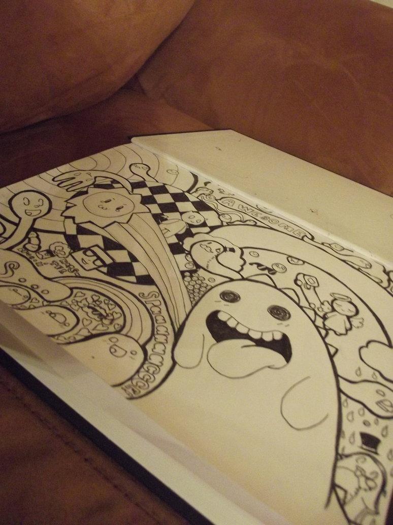 Drawn triipy dinosaur On lickin' Trippy by Kiakogeoscch