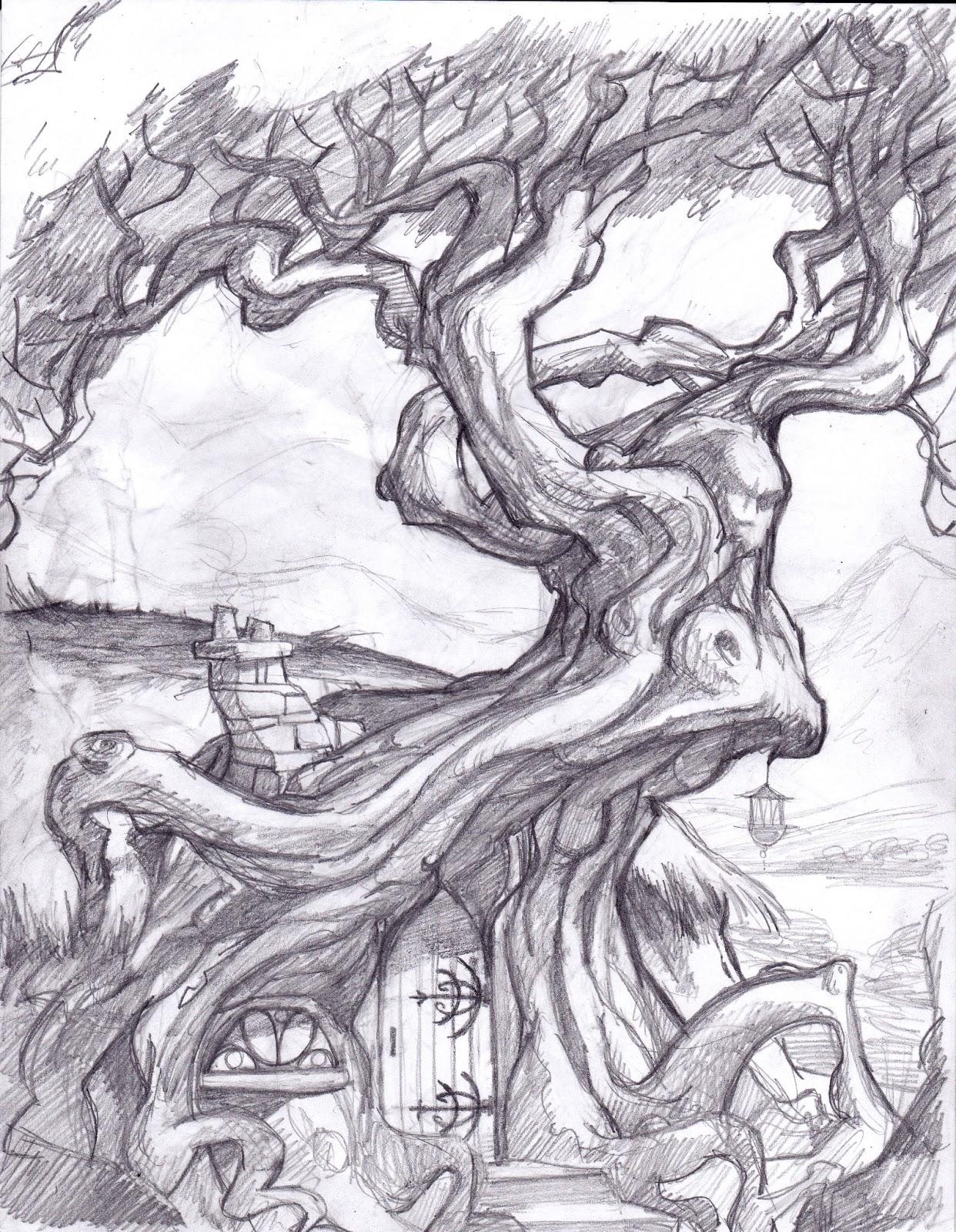 Drawn triipy dragon Tree Displaying drawing fantasy Trippy