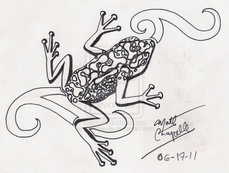 Drawn triipy frog Tattoo Tattoo Fans Trippy Stunning