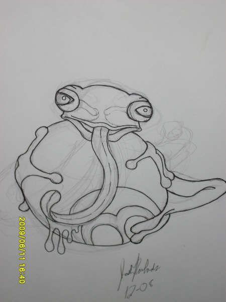 Drawn triipy frog Joshua Trippy DeviantArt Frog Frog