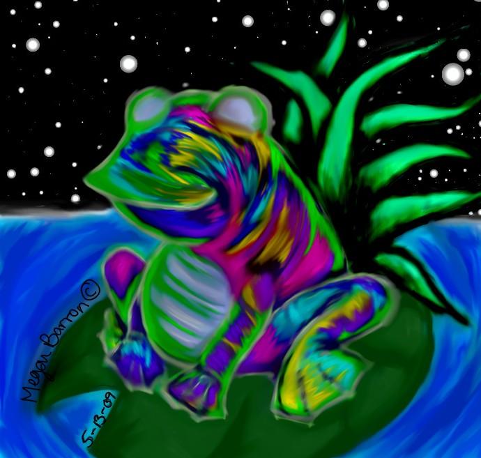 Drawn triipy frog Trippy punkrose on by Frog