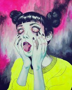 Drawn triipy girly Trippy by Soskin trippy; drugs;