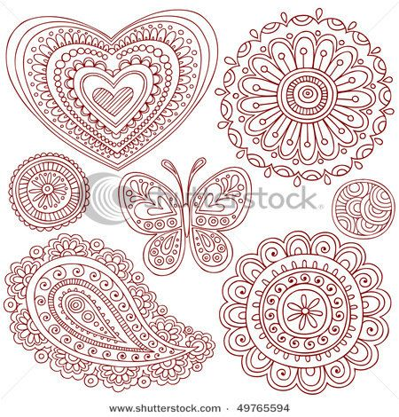 Drawn triipy heart Psychedelic Trippy images Pinterest Henna