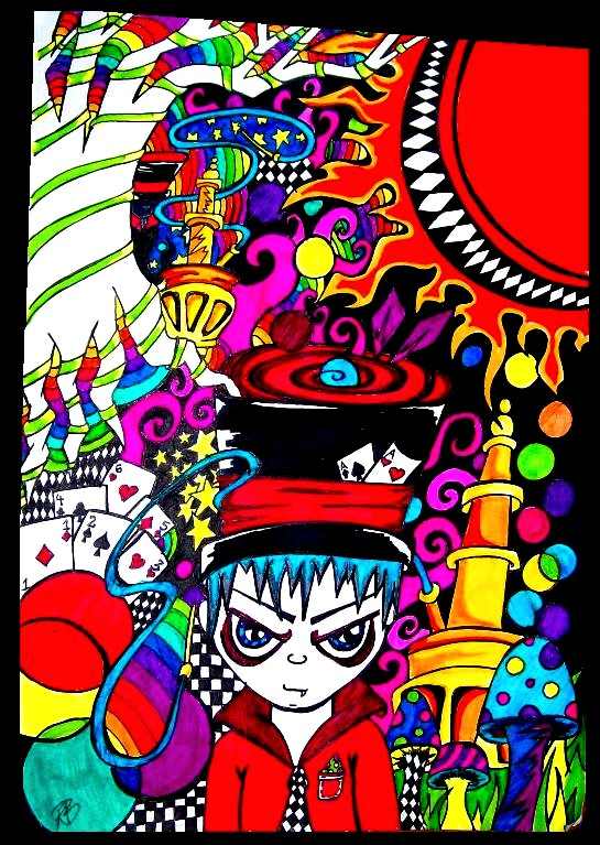 Drawn triipy mad hatter Mad LadyOfGateways LadyOfGateways DeviantArt Hatter