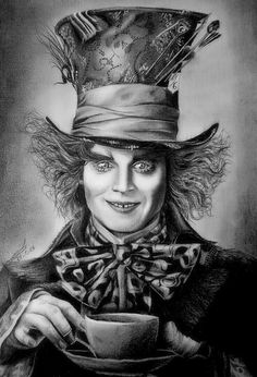 Drawn triipy mad hatter Hatter Pinterest in depp Hatter