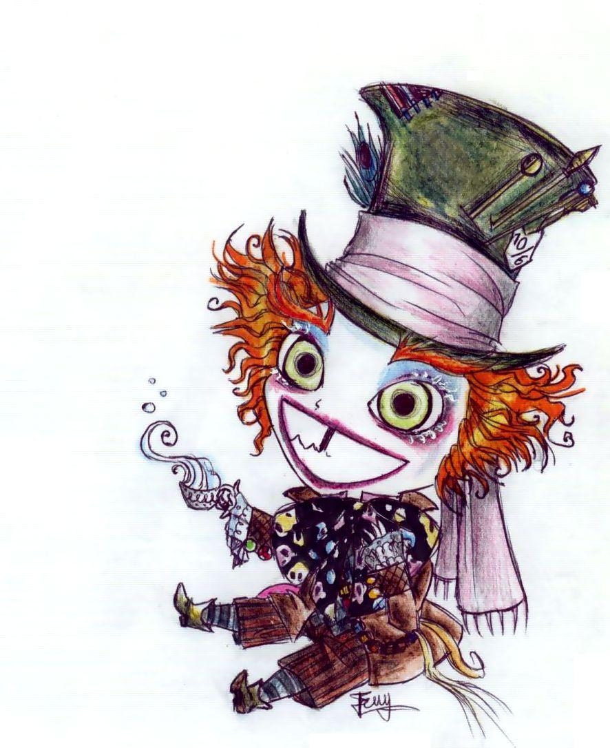 Drawn triipy mad hatter DrawingMad as Image hatter http://www