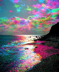 Drawn triipy nature See image acid Acid our