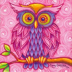 Drawn triipy owl Images owl Owl Design Psychedelic