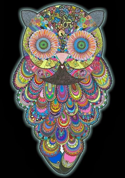 Drawn triipy owl Trippy TAG NEW PsyAmb Comments