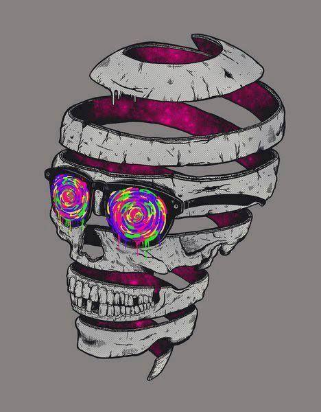 Drawn triipy skeleton Trippy 71 Find on more