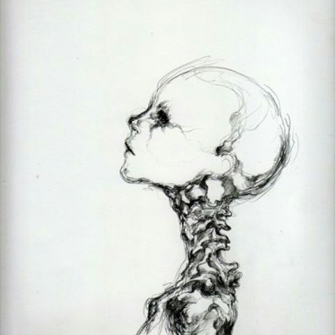 Drawn triipy skeleton Photos inside) #sketch JANE™ VAIN
