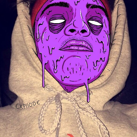 Drawn triipy snapchat Profile expllode looking (photos trippy