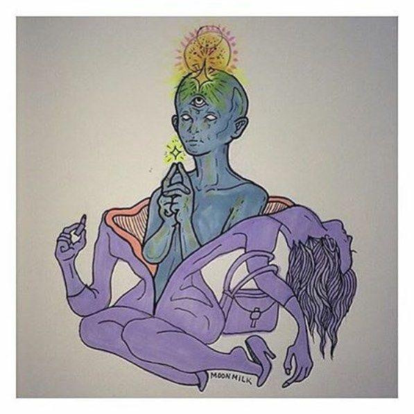 Drawn triipy third eye Pinterest Divine Best art Google
