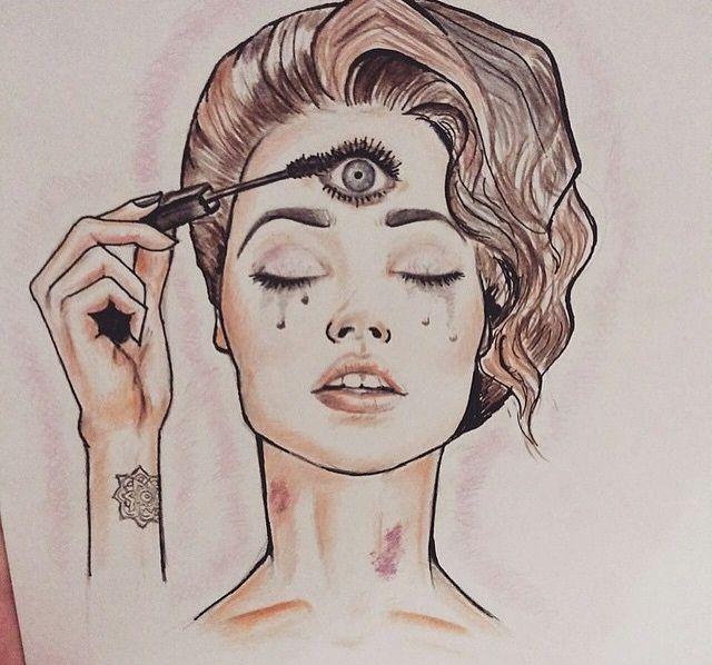Drawn triipy third eye To How Safely 'Third Eye'