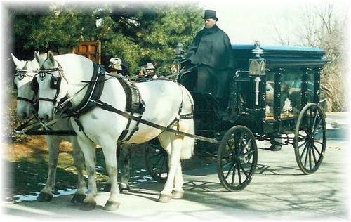 Drawn trolley double horse 76 Carriage Funerals Horse Carriage
