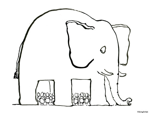 Drawn trolley elephant Drawing of by of Ten