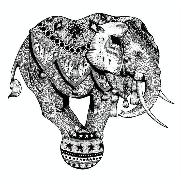 Drawn trolley elephant Elephant Amber Best ideas co