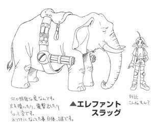 Drawn trolley elephant Super Vehicle powered Wiki Metal