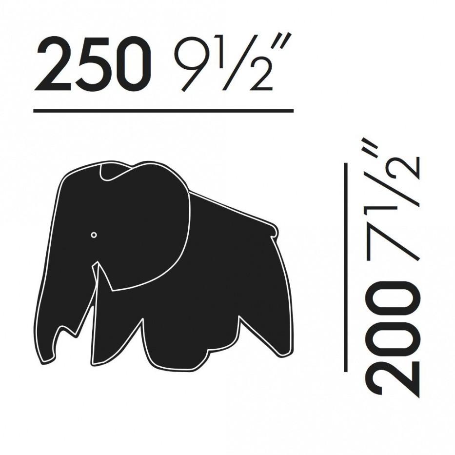 Drawn trolley elephant Vitra Elephant AmbienteDirect Mousepad Elephant