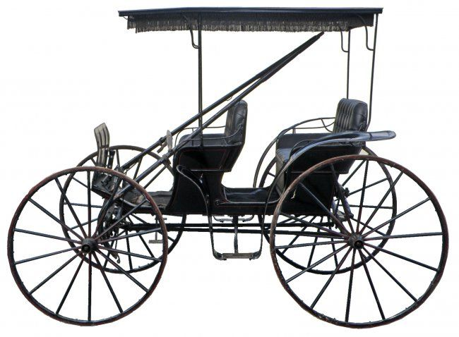 Drawn trolley friesian horse And Find this Horse Vehicles